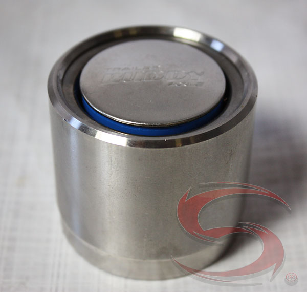Ufp Trailer Buddy  07509 Stainless Steel Press In Cover Cap