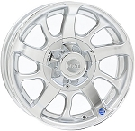 15 x 6 HiSpec Series08 Aluminum Trailer Wheel 5 on 4.50, 2150 lb Load Capacity