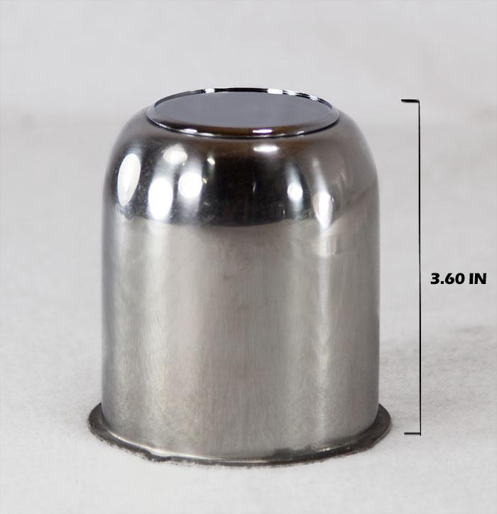 3 190 In Stainless Steel Trailer Wheel Center Cap