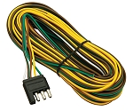 20' Wishbone Flat-4 Trailer Wiring Harness #108820
