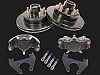 10 inch Kodiak Trailer Complete 1 Axle Disc Brake Kit E-COAT #2/HRCM-10-E-KIT