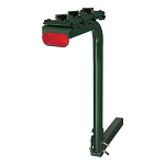 CURT Single Arm Bike Rack #1801906 - Dark Green - 4 Bikes