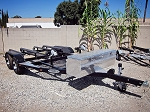 SOLD - 2012 SHAD II Double Jet Ski Trailer Powder Coated Black Fully Loaded