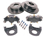 Kodiak Disc Brake Kit 12 in Rotor, 6 on 5-1/2 in, E-Coat 5,200 lb to 6,000 lb
