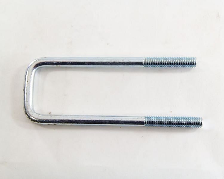 Square Zinc Plated Trailer U Bolt 2 1 8 In Wide X 7 4 Tall