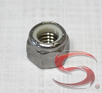3/8-16 Nylon Insert Lock Nut Standard Pattern 18.8 Stainless Steel