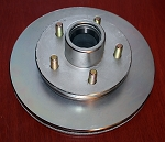 UFP DB-42 Hub/Rotor 3.7K, 5 on 4-1/2, 10.25D, Zinc Plated 41035 / 008-452-05
