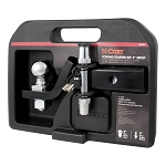 CURT Class II Towing Starter Kit Ball and 4