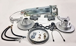 TITAN Swing-Away Disc Brake Complete Single Axle Kit 4843300 / K71-883-00