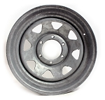 16.5 x 6.75 Galvanized 8-Spoke Trailer Wheel 6 x 5.5  71-6660
