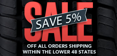 Save 5 Percent Off of your Trailer Parts Order