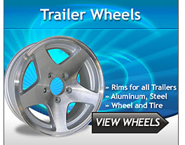 Boat and Utility Trailer Wheels