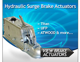 Hydraulic Surge Trailer Brake Actuators