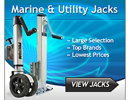 Marine, Utility and Electric Boat Trailer Jacks