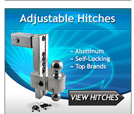 Adjustable Trailer Hitches and Ball Mounts