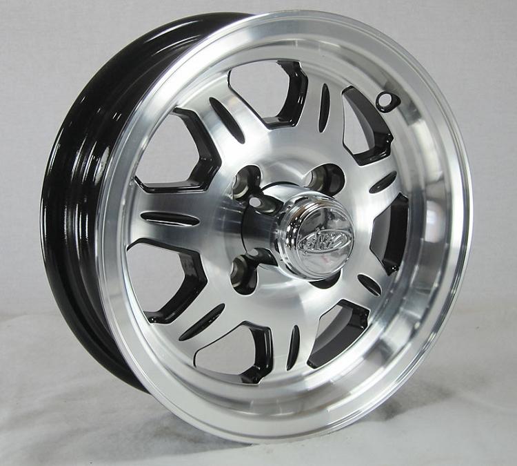 12 X 4 Sawtooth Aluminum Trailer Wheel 4 On 4 Lug 1 220