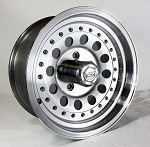 15 x 7 ION 71 Aluminum Trailer Wheel, 5 x 4.50 Bolt Pattern 1,900 lb Load Capacity