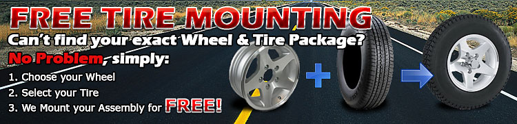 Free Trailer Tire Mounting
