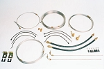 25' Tandem Axle Brake Line Kit
