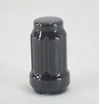 Black Spline Acorn Lug Nut 1/2 in Splined.Trailer Lug Nut