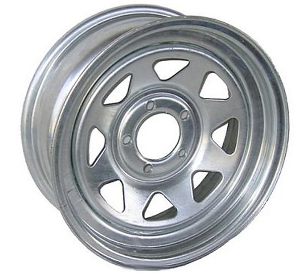 home gt trailer wheels gt 14 x 6 galvanized steel spoke trailer wheel 5