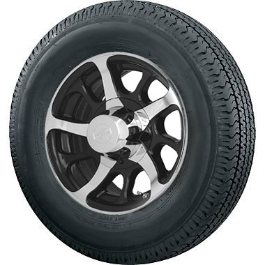 14 inch dark force trailer wheel and 185 75r14 radial special trailer tire assembly. Black Bedroom Furniture Sets. Home Design Ideas