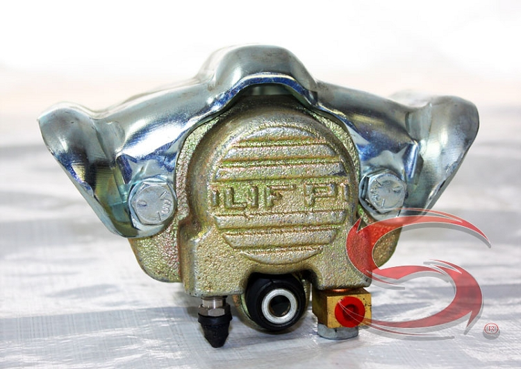 Rotor Zinc Caliper UFP Disc Brake 10 5-Lug 3750Lb Zinc