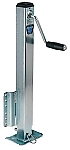 FULTON 2,500 lb. Capacity Heavy Duty Fixed Mount Drop Leg Trailer Jack