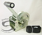 FULTON 2600 lb. Capacity Two-Speed and Trailer Winch w/ Strap