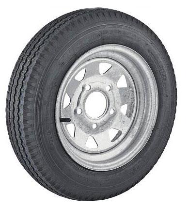 13 Inch Galvanized Steel Spoke Trailer Wheel 5 X 4 5 Trailer Tire
