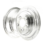 10 x 6 Galvanized Trailer Rim Bolt Pattern 5 on 4.50 Lug, 1,800 Load Capacity