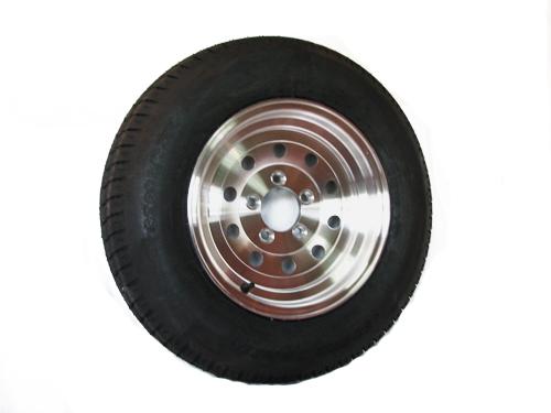 st215 75d14 lr c trailer tire 14 inch lug aluminum modular wheel. Black Bedroom Furniture Sets. Home Design Ideas