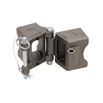 Fulton Fold-Away Weld-On Hinge Kit, 3
