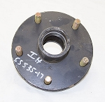 Idler Hub for 3,500 lb Axles, 5 on 5.5