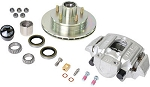 UFP by Dexter Zinc+ Hub, Stainless Steel Ventilated Rotor And Stainless Steel Caliper Kit -#K71-088-05