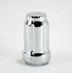 1/2-20 in Chrome Steel Splined Lug Nut