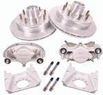 Kodiak Disc Brake Kit w/ 13 in Rotor, 8 on 6.5, Dacromet-DAC 7K lb (One Axle Kit)