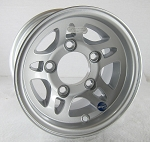 10x6 Hi Spec HWT S5 Aluminum Trailer Wheel, 5 on 4.50 Bolt Pattern 1,765 lb Max Load