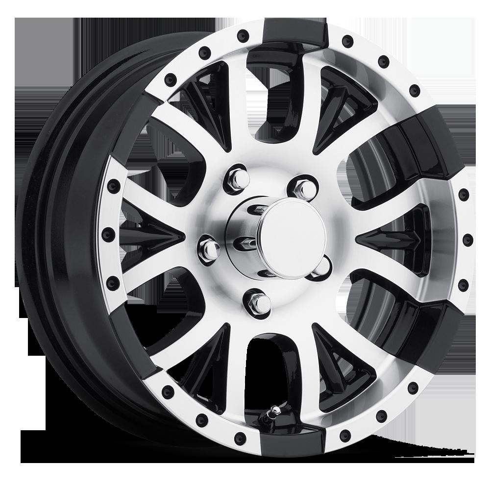 13x5 Aluminum T13 Sendel Trailer Wheel 4x4 Lug 1 480 Lb