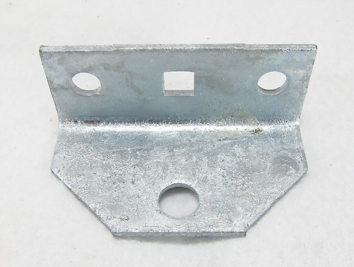 swivel top angle bracket  galvanized   86115g for mounting