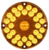 7 inch Round Transit LED Turn Signal Light, 31 Diode, Amber #STL90AB