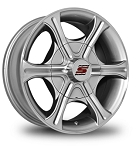 14 x 5.5 Silver Machined Aluminum T05 Trailer Wheel 5x4.50 Bolt Pattern