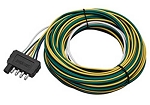 25 ft Trailer End Wishbone Wire Harness, 5 Way Flat