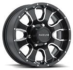16x6 Mamba 860M HD Matte Black Aluminum Trailer Wheel 8x6.50 3960 Lb Load Rating 860M-66080