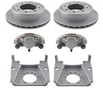 Kodiak Disc Brake Kit w/ 13 in Rotor, 8 on 6.5, Dacromet DAC 7K lb (One Axle Kit)