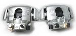 UFP DB-35 Disc Brake Caliper Complete Set of Two (2), Left and Right Zinc Plated