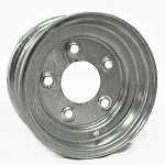 8 x 3.75 Galvanized Steel Trailer Wheel 5x4.50 Lug, 1,075 lb Load Capacity