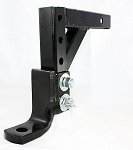 Adjustable Trailer Hitch Ball mount 10 inch Drop, 5,000 lbs.
