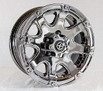 14x6 American Racing ATX Ledge Trailer Wheel, 5 on 4.50 Lug, 1800 lb Load Capacity