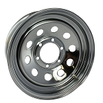 14 x 5.5 Chrome Modular No Rivets Wheel 5 on 4.50 Bolt Pattern